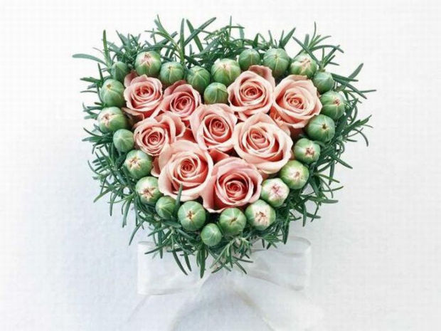 Красивые сердечки ко Дню Валентина и другим праздникам