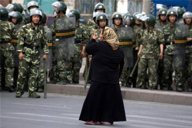 Кровь на улицах Урумчи в Китае