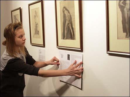 Шутки Сталина на репродукциях академических рисунков