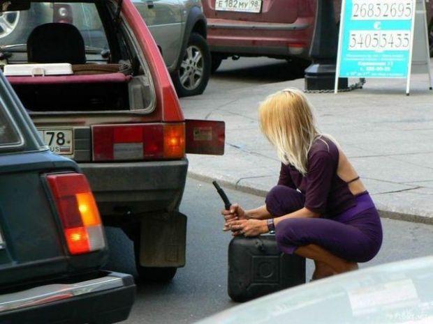 Блондинки за рулем (фото)