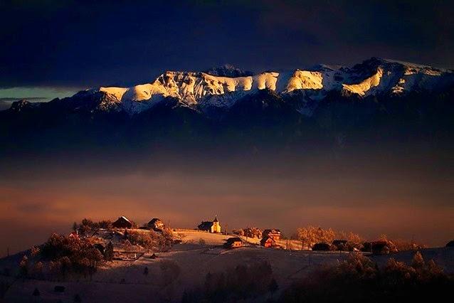 Прекрасные пейзажи Румынии