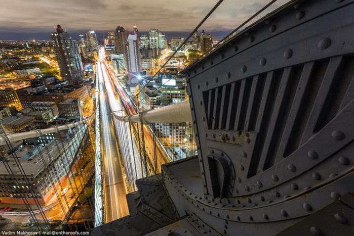 Руферы в Нью Йорке: как Большое Яблоко выглядит с высоты крыш города